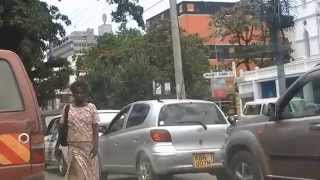 Rush hour in MOMBASA Kenya