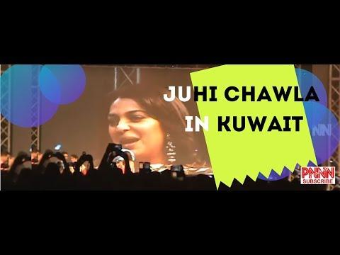 Juhi Chawla in Kuwait, Abbassiya