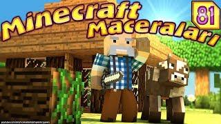 KAMİL DAYI MiNACRAFT'TA iNEK PEŞİNDE (Minecraft Maceraları Örümcek Adam)