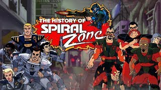 The History of The Spiral Zone: An 80's Animated Walking Dead... Sort Of