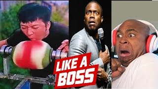 LIKE A BOSS COMPILATION REACTION #2