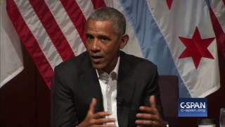 "Former President Obama: ""So, uh, what"