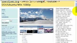 como personalizar o google