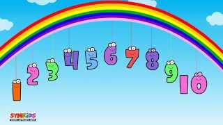 10 Little Numbers song for Children | Ten Little Numbers song | 123 song