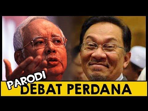 DEBAT Anwar dengan Najib