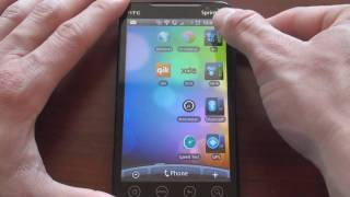 Sprint EVO 4G Software Review Part 1