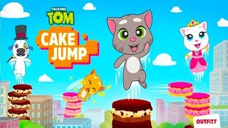 Talking Tom Cake Jump - Android Gameplay (By Outfit7 )