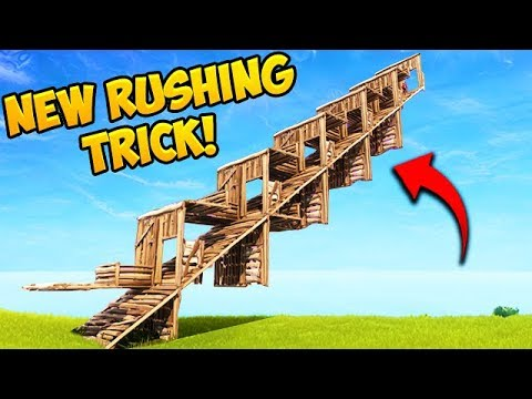 *EPIC TRICK* New Method of Rushing..!! - Fortnite Funny Fails and WTF Moments! #322
