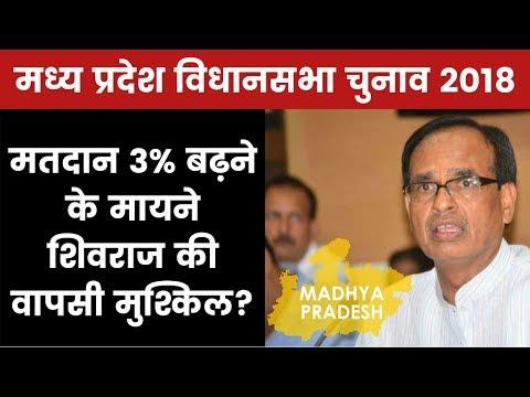Madhya Pradesh Assembly Election 2018: शिवराज का सिंहासन डोल रहा