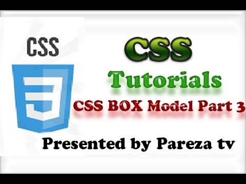 CSS Tutorial for Beginners-20-CSS Box Model Part 3 adding image Urdu Hindi