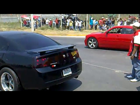charger vs super bee arrancones veracruz 2011