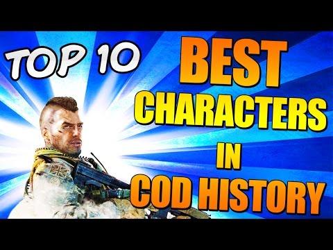 [ES][DQ]BEST CHARACTERS[ES][DQ] In Cod History (Top Ten - Top 10) [ES][DQ]Call of Duty[ES][DQ]