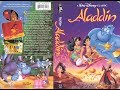Opening to Aladdin 1993 VHS (Version 2)