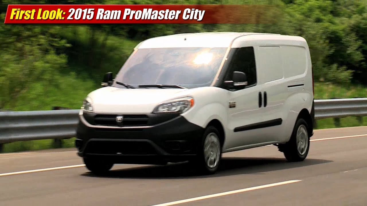 first look 2015 ram promaster city cargo van youtube. Black Bedroom Furniture Sets. Home Design Ideas