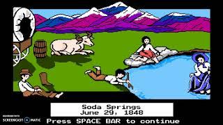 Let's FAIL The Oregon Trail (DOS)