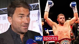 Eddie Hearn reacts to signing Billy Joe Saunders & talks up fights w/Canelo, GGG & Callum Smith
