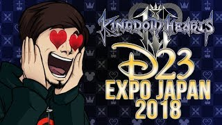[REACTION] Kingdom Hearts 3 D23 Expo Japan 2018 Trailer (Live Completa)