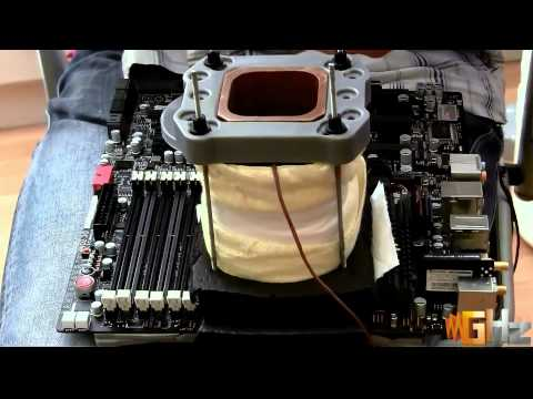 ASUS Rampage III Black Edition + Intel Core i7-980X @ 6.5GHz - LN2 Overclocking