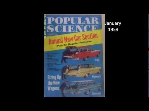 Cameron Books - Popular Science magazine covers from the 1940's & 1950's