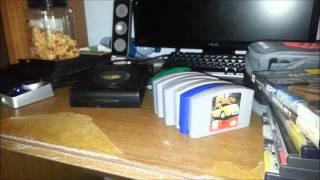 Unboxing a box of free Game stuff from a Co-worker!