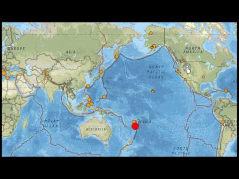 EARTHQUAKE 7.4 MAG