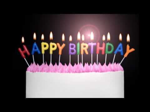 Happy Birthday To You video