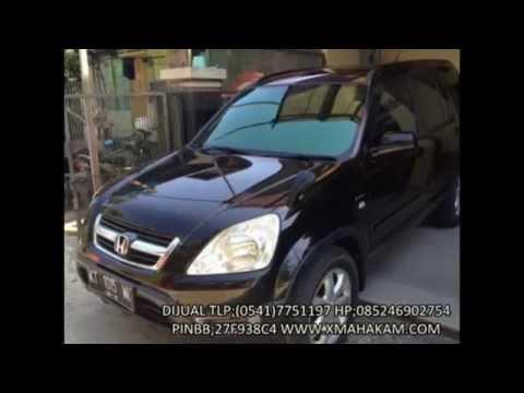 Dijual Honda CRV 2004 MT Samarinda HP;085246902754 http://www.xmahakam.com/