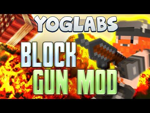 Minecraft Mods - Block Gun Mod - Yoglabs video