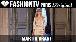 Martin Grant Spring/Summer 2015 Runway Show   Paris Fashion Week PFW   FashionTV
