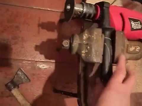 круг на дрель для заточки ножа