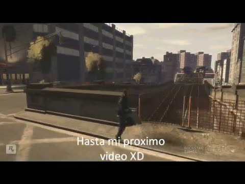 Gta 4 pc Caidas, golpes y accidentes (parte 11)