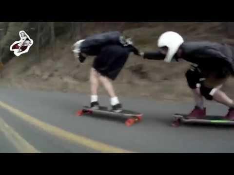 RawDoggin'It: Switchback Longboards at Rowena Loops Rd