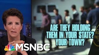Americans Finding Ways To Work Against Donald Trump Immigration Policy | Rachel Maddow | MSNBC