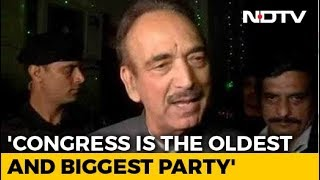 "Ghulam Nabi Azad's U-Turn After ""Congress Doesn't Want PM's Post"" Remark"