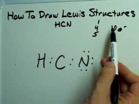 dot diagram for cyanide how to draw lewis structures  with example  youtube  how to draw lewis structures  with example  youtube