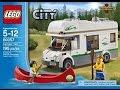 LEGO City 60057 Дом на Колёсах (Camper Van) + мульт.