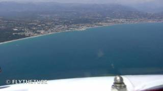 Riviera VOR Approach to RWY 04L  LFNM NICE Cote D