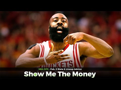 NBA Daily Fantasy Basketball: Feb 2 DFS Tinder & Lineup Advice