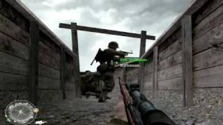 Call of Duty 2 - D Day  - Extreme Difficulty - Nivel Veteran 2/3