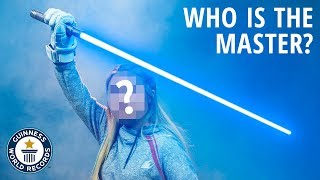 Who Will Become The Real Jedi Champion? - Guinness World Records