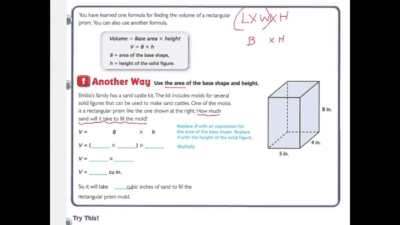 Volume of composite figures worksheet with answers