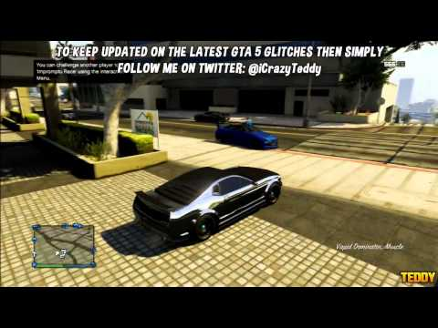 GTA 5 ONLINE: DUPLICATE ANY CAR ONLINE - FREE CARS GLITCH (GTA V GLITCHES AFTER 1.05 PATCH)