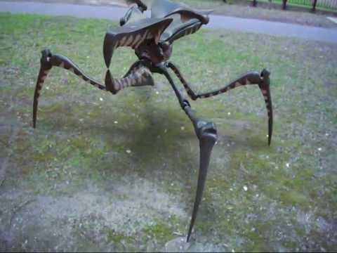 arachnid warrior test animation
