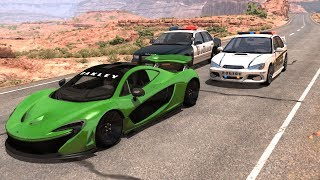 Extreme Police Chases Crashes&Fails #14 - BeamNG DRIVE