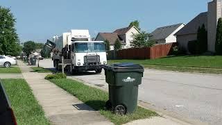 Garbage Truck  pick up
