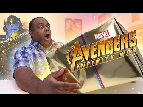 AVENGERS INFINITY WAR MYSTERY UNBOXING!