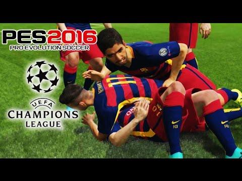 Empieza La UEFA Champions League - PES 2016 - Los Grupos