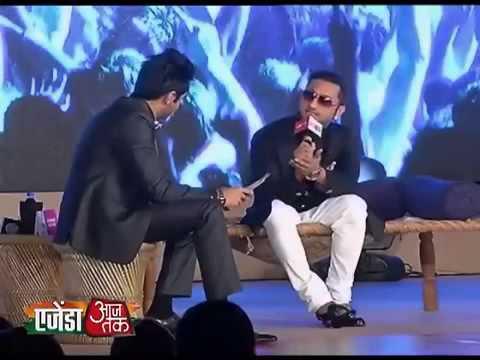 Agenda Aaj Tak 2013: My Songs Are Not Vulgar - Honey Singh video