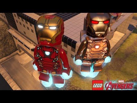 Мультик игра для детей Халкбастер, Железный человек Мультик для детей. Лего марвел