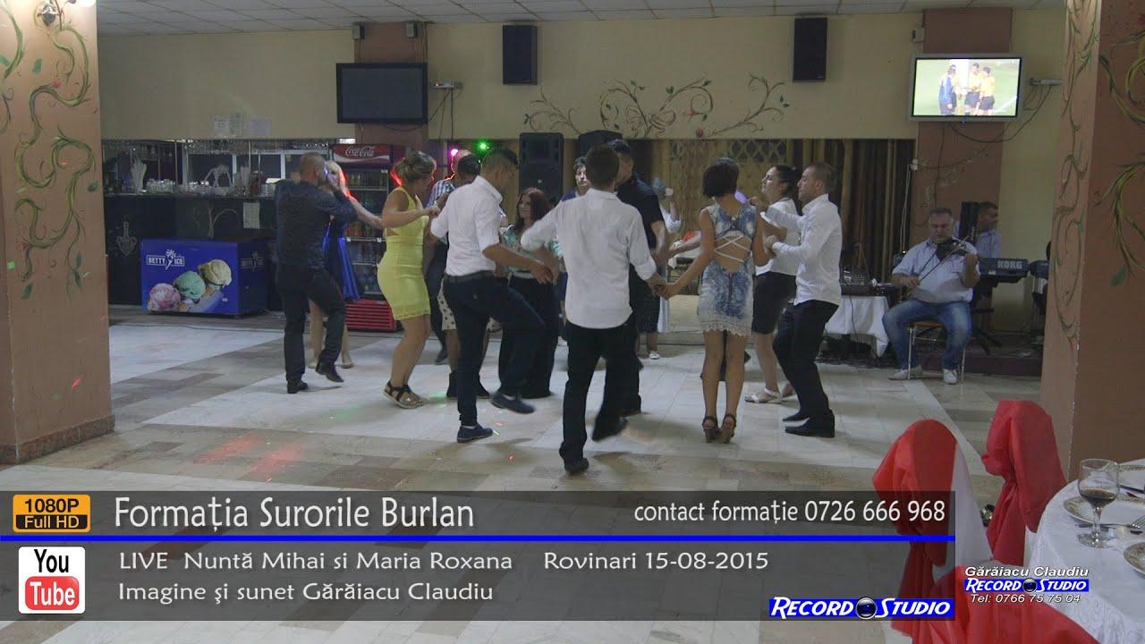 ♫ Surorile Burlan Colaj SARBA part.2 LIVE Nunta Mihai si Maria Roxana 15-08-2015